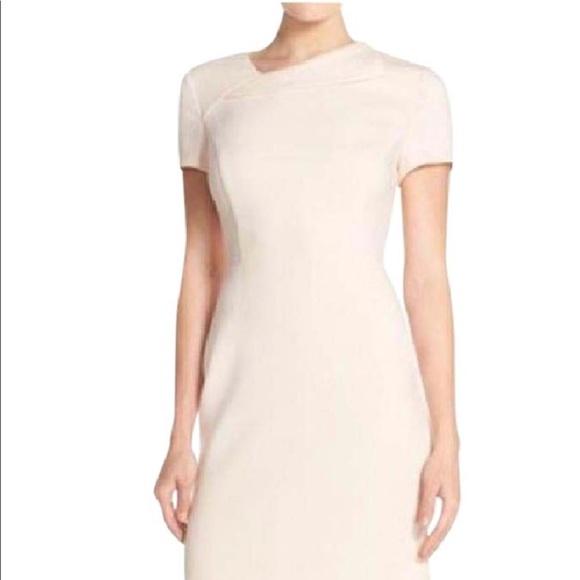 Light Pink Sheath Dress